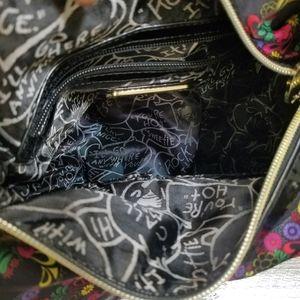 Betsey Johnson Bags - Betsy Johnson multicolor floral skull handbag
